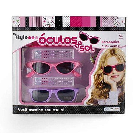 Óculos de Sol infantil personalizável c proteção UV400 BR135