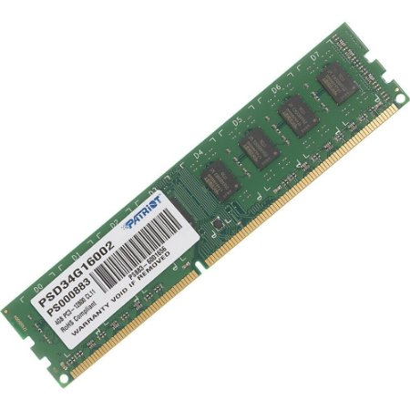 Memória Para Pc Patriot Signature Line 4gb 1600mhz Ddr3