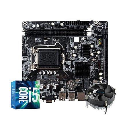 Kit Upgrade Gamer Megatumii Intel i5 Placa e Cooler