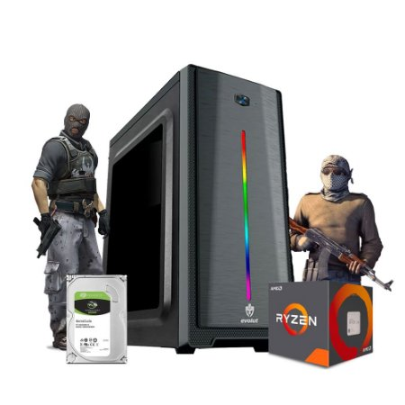 Pc Gamer Megatumii Clean Slayer Amd R3 3200G 16gb Hd 500gb