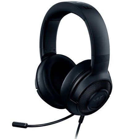 Headset Gamer Razer Kraken X Lite Essential - Pc/Ps4/Xbox