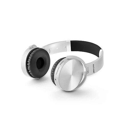 Headphone Premium Bluetooth Sd/Aux/Fm Branco - Multilaser
