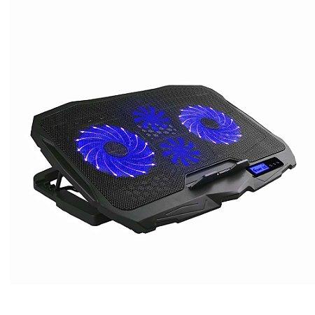 Base Gamer para Notebook com Led Azul