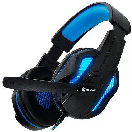 Headset Gamer Evolut Thoth Azul  - EG305BL