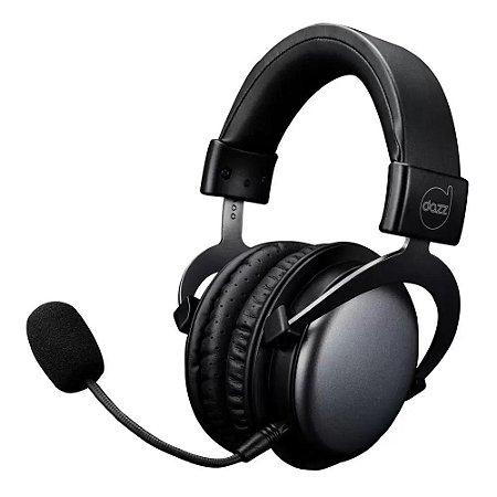 Headset Gamer Viper Black 2.0 PC/PS4/Celular Dazz