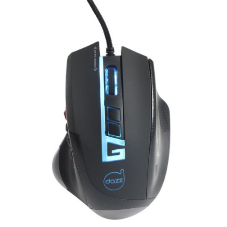 Mouse Gamer RGB 5000 dpi 12 botões Moba Pro