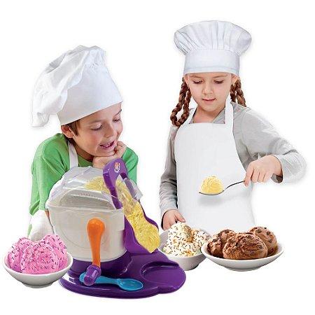 Brinquedo Infantil Sorveteria Maquina Sorvete Kids Chef +8a