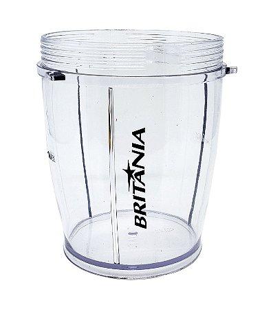 Copo menor   Liquidificador Britania Fit Inox - 063101013 / 063102013