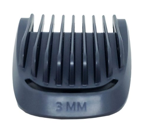 Pente barba 3mm | Aparador MG3711 / MG3712 / MG3721 /  MG3730 / MG3731 / MG3748 / BT1209 / BT1214  Philips