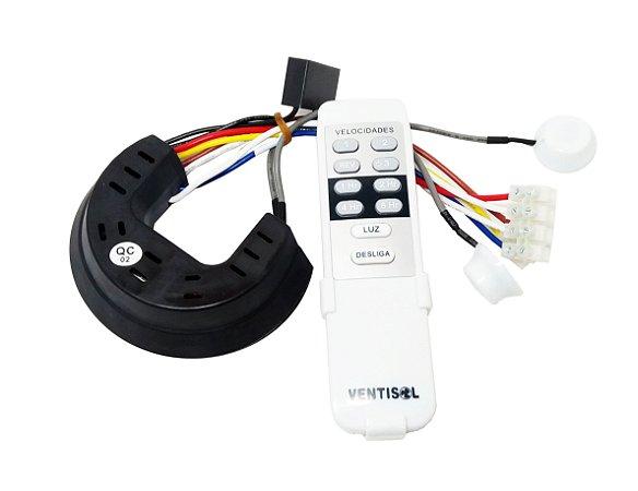 Kit Controle | Ventilador Sunny Ventisol
