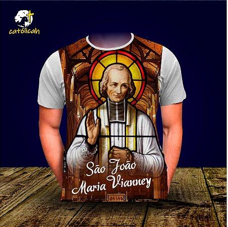 Camiseta São João Maria Vianney