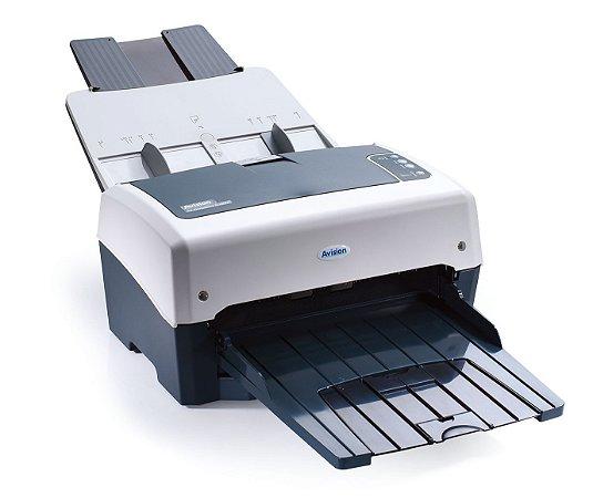 Scanner Avision AV320E2+ - USB - Documentos A4 & A3 - Velocidade 80ppm / 160ipm