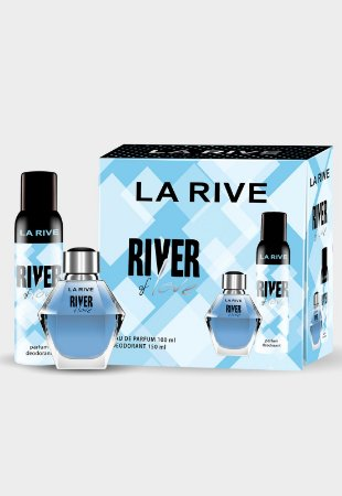 Kit River Of Love Eau de Parfum Feminino 100ml - La Rive