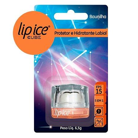 Protetor Labial Lip Ice Cube Baunilha - Mentholatum