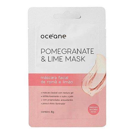 Máscara Facial Nutritiva Pomegranate and Lime - Océane