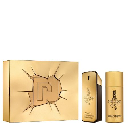 Kit One Million Paco Rabanne Masculino Eau de Toilette