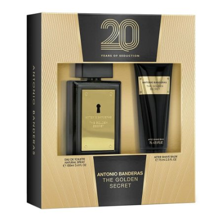 Kit The Golden Secret Antonio Banderas EDT Masculino