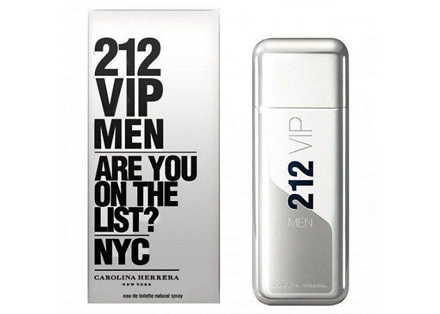 Perfume 212 VIP Men Eau de Toilette 100ml - Carolina Herrera