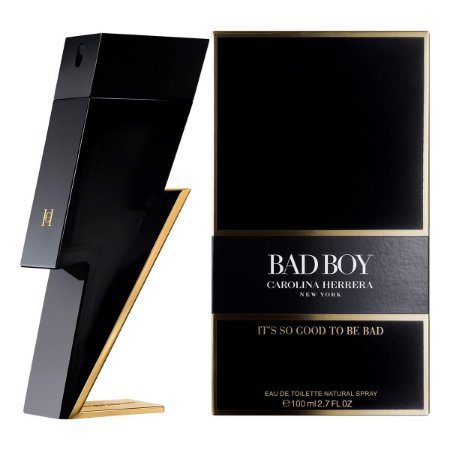 Perfume Bad Boy Eau de Toilette 100ml - Carolina Herrera