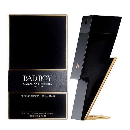 Perfume Bad Boy Eau de Toilette 50ml - Carolina Herrera