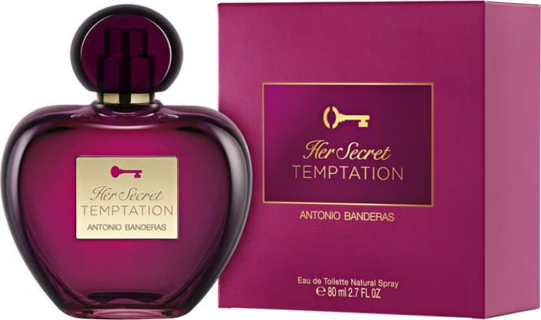 Her Secret Temptation Feminino EDT 80ml - Antonio Banderas