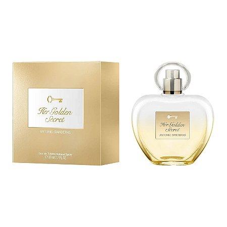 Her Golden Secret Feminino EDT 80ml - Antonio Banderas