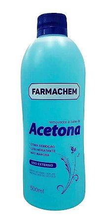 Removedor De Esmalte Acetona 500ml - Farmachem