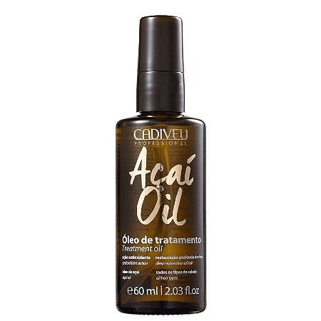 Óleo Capilar Açaí Oil para Tratamento 60ml - Cadiveu