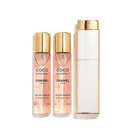 Coco Mademoiselle Chanel Twist Feminino Eau de Parfum 3x20ml
