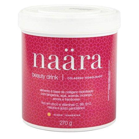 Suplemento Alimentar Beauty Drink Tangerina - Naära 270g