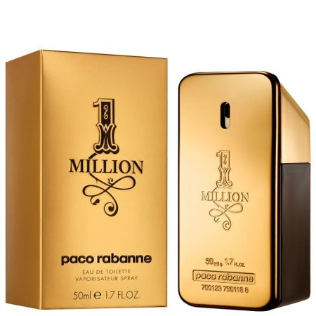 1 Million Eau de Toilette Masculino 50ml - Paco Rabanne