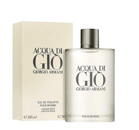 Acqua Di Gio Homme EDT Masculino 200ml - Giorgio Armani