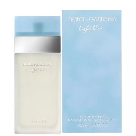 Light Blue Eau de Toilette Feminino 100ml - Dolce & Gabbana