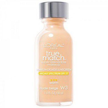 Base Loréal True Match W3 Nude Beige 30ml