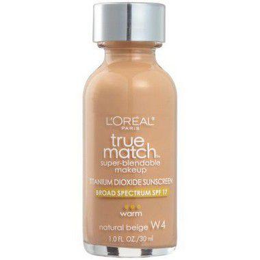 Base True Match W4 Natural Beige 30ml - Loréal