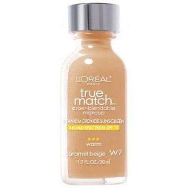 Base True Match W7 Caramel Beige 30ml - Loréal