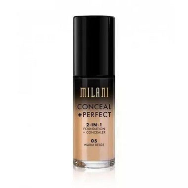 Base 2-in-1 Conceal+Perfect 05 Warm Beige 30ml - Milani
