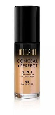 Base 2-in-1 Conceal+Perfect 06 Sand Beige 30ml - Milani