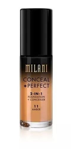 Base 2-in-1 Conceal+Perfect 11 Amber 30ml - Milani