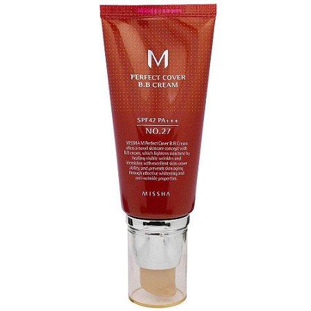BB Cream Missha Perfect Cover 27 Honey Beige 50ml