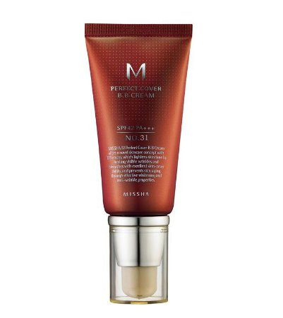 BB Cream Perfect Cover 31 Golden Beige 50ml - Missha