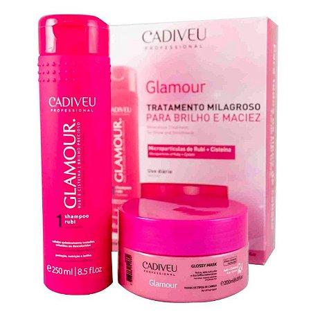 Kit Glamour Rubi Glossy e Cisteína - Cadiveu