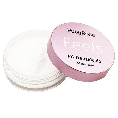 Pó Translúcido Feels Matificante - Ruby Rose