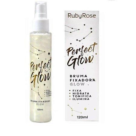 Bruma Fixadora de Maquiagem Perfect Glow 120ml - Ruby Rose