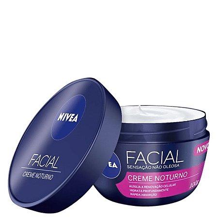 Creme Hidratante Facial Noturno 100ml - Nivea