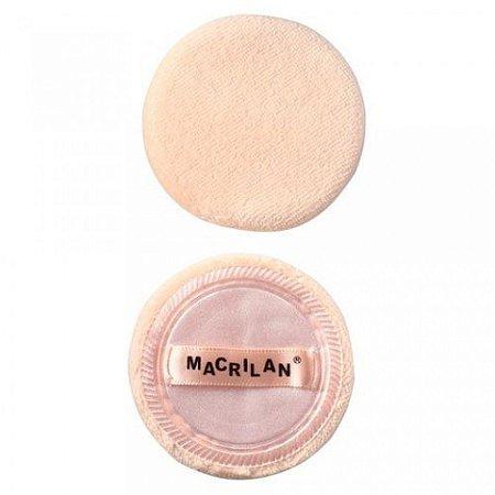 Esponja de Maquiagem para Pó 2 pç - Macrilan