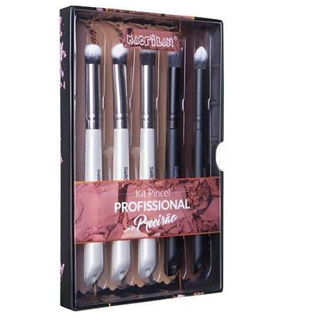 Kit Pincel de Maquiagem para Precisão WB400 5pçs - Macrilan