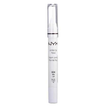 Lápis Delineador NYX Jumbo Branco 604 Milk 5g