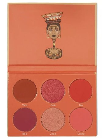 Paleta The Saharan Blush Vol.2 27g - Juvias