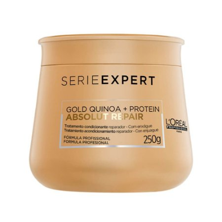 Máscara Loréal Gold Quinoa Absolut Repair 250ml